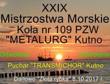 Morskie Mistrzostwa Koła 109 - ODWOŁANE !