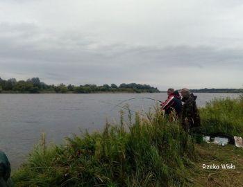 Zawody gruntowe na Wiśle 15.08.21 r.